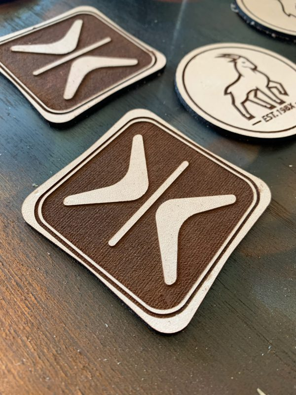 Genuine Leather Patch for Hats